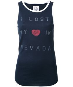 Zoe Karssen | Nevada Tank Top Small Cotton/Modal