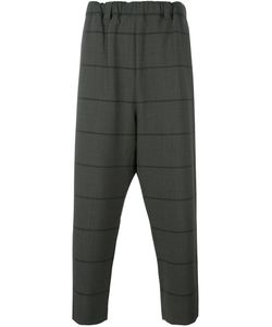 Lucio Vanotti | Loose Fit Tapered Trousers 4 Polyester/Wool/Spandex/Elastane/Cotton