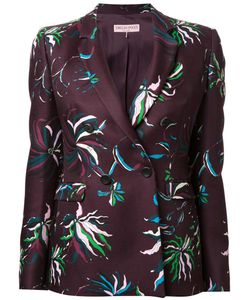 Emilio Pucci | Print Fitted Jacket 38 Wool
