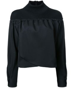 TARO HORIUCHI | High Neck Blouse 1 Wool