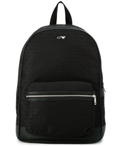 ARMANI JEANS | Logo Print Backpack Polyester