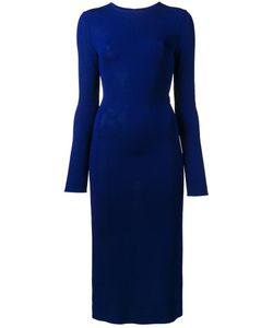 ESTEBAN CORTAZAR | Fitted Cut-Out Dress 38 Viscose/Polyamide/Spandex/Elastane