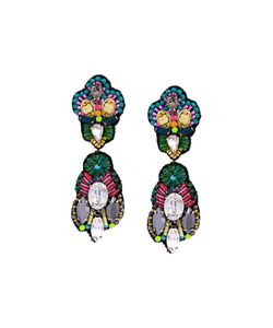 Megan Park | Mishra Duo Drop Earrings