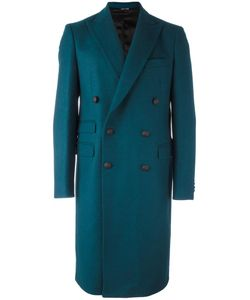 Andrea Pompilio | Classic Double Breasted Coat 50 Virgin