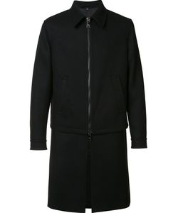 Neil Barrett | Layered Coat 46 Wool