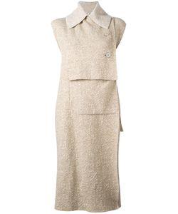 Boboutic | Asymmetric Waistcoat Medium Polyamide/Wool/Yak/Spandex/Elastane