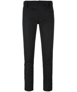 Haider Ackermann | Bayard Trousers 36 Cotton/Linen/Flax/Spandex/Elastane/Leather