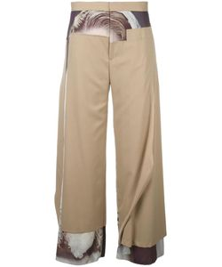 Undercover | Frayed Edge Patchwork Trousers 3 Wool/Polyester