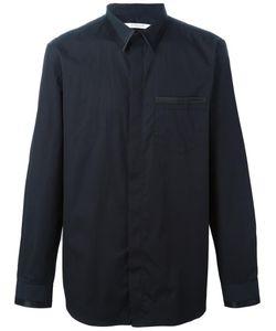 Givenchy   Trim Detail Classic Shirt 40 Cotton/Silk