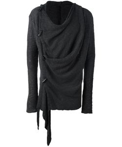 Army Of Me | Draped Asymmetric Sweatshirt Large Cotton