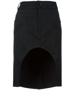 Haider Ackermann | Bayard Skirt 40 Cotton/Linen/Flax/Spandex/Elastane/Wool