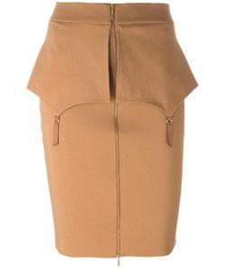 Murmur | Fold Skirt 38 Rayon/Viscose/Nylon/Spandex/Elastane