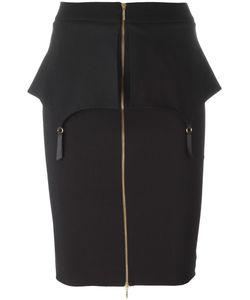 Murmur | Fold Skirt 36 Rayon/Viscose/Nylon/Spandex/Elastane