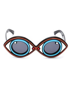 LINDA FARROW GALLERY | Yazbukey 2 Sunglasses Acetate