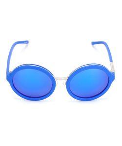 LINDA FARROW GALLERY | Round Tinted Sunglasses Plastic
