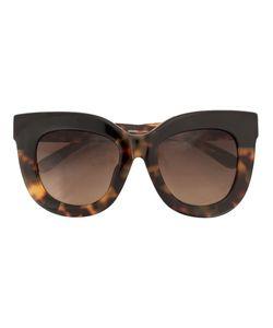LINDA FARROW GALLERY | Amber Tortoise Shell Sunglasses Acetate/Glass
