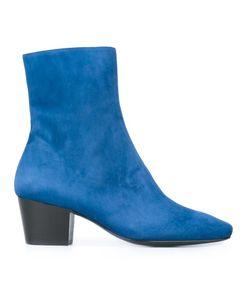 DORATEYMUR   Drop Nose Boots 36 Calf Suede/Leather