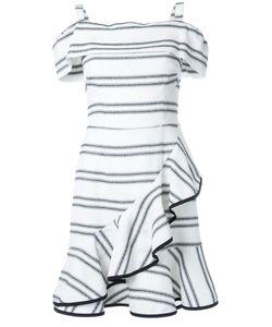 Rebecca Vallance | Jupiter Ruffle Mini Dress 10 Rayon