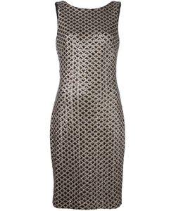 Lauren Ralph Lauren   Sequin Embellished Dress 12 Polyester/Spandex/Elastane