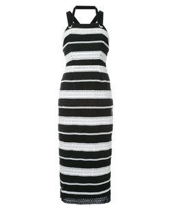 Rebecca Vallance | Testa Apron Midi Dress 12 Polyester