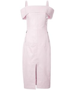 Rebecca Vallance | Astor Off-The-Shoulder Dress 6 Lamb Skin