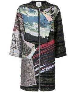 MIHARA YASUHIRO | Miharayasuhiro Patched Dress 40 Cotton/Polyester/Wool