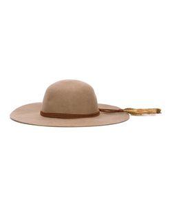 Sensi Studio | Feather Detail Hat Large Wool Felt
