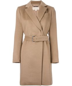 Michael Michael Kors | Belted Short Coat Womens Size 10 Wool/Polyester/Acrylic/Spandex/Elastane
