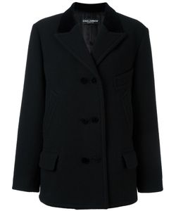 Dolce & Gabbana | Double Breasted Blazer 40 Wool/Cotton/Viscose/Cupro