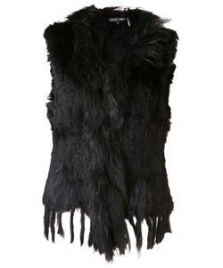 Dolce Cabo | Sleeveless Jacket Medium Rabbit Fur