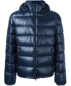 Herno | Hooded Padded Jacket 52 Polyamide/Spandex/Elastane/Feather Down