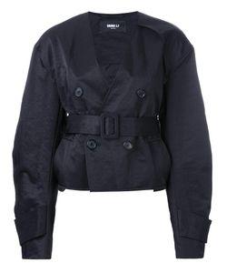 Yang Li | Short Aviator Jacket 42 Polyamide/Polyester/Viscose