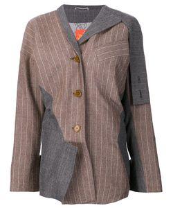 Vivienne Westwood Red Label | Asymmetric Pinstripe Blazer 42