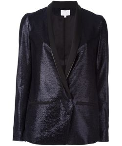 Lala Berlin | One Button Blazer Large Viscose/Polyester/Acetate