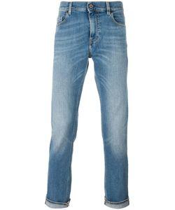 Pence | Straight Leg Jeans 33 Cotton/Spandex/Elastane