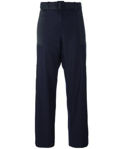 HARMONY PARIS | Panelled Trousers 34 Wool