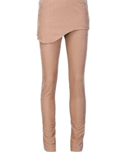 Vivienne Westwood Red Label | Skirted Velvet Trousers 40