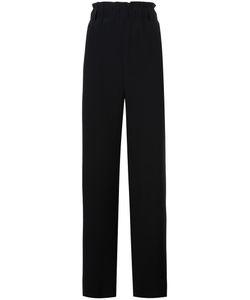Lucio Vanotti | High-Rise Elasticated Waistband Trousers 1 Wool/Cotton/Spandex/Elastane