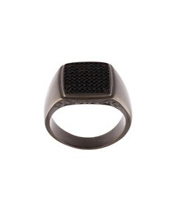 Nialaya Jewelry | Embellished Signet Ring 9