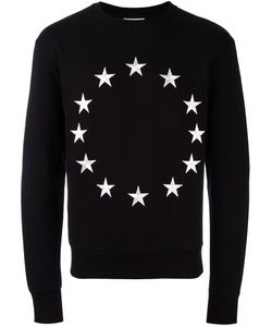 ÉTUDES | Embroidered Star Sweatshirt Medium Cotton/Polyester