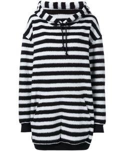 A.F.Vandevorst | Oversized Striped Hoodie Medium Polyamide/Polyester/Wool