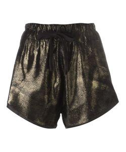 10Sei0Otto | Tone Shorts 42 Calf Hair/Cotton/Spandex/Elastane