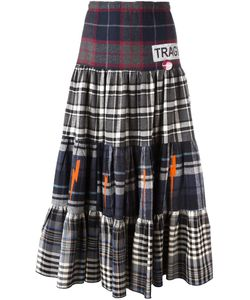 SOLD OUT FRVR | Plaid Maxi Skirt Small Cotton/Polyester/Other