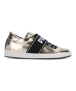 Philippe Model | Paris Strap Sneakers 41 Leather/Rubber