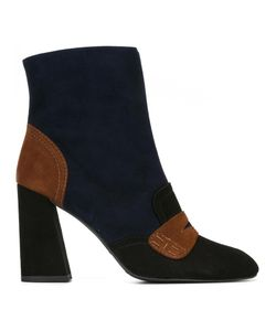 Stuart Weitzman | Moxanne Boots 40 Suede/Leather/Rubber