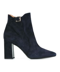 Fratelli Rossetti | Round Toe Ankle Boots 40.5 Suede/Rubber/Leather