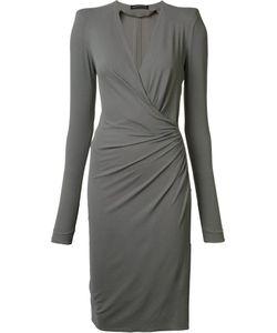 Alexandre Vauthier | Wrap Effect Dress 38 Spandex/Elastane/Viscose