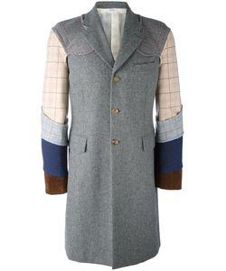 COMME DES GARCONS HOMME PLUS | Comme Des Garçons Homme Plus Patchwork Panelled Coat Size Medium