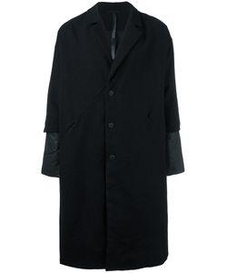 Barbara I Gongini | Layered Sleeve Cocoon Coat 50