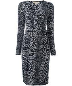 Michael Michael Kors | Leopard Print Dress Medium Polyester/Spandex/Elastane
